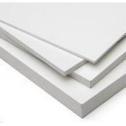 3050mm x 2030mm x 5mm White Foam PVC (Matt)