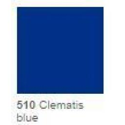 1230mm Wide Clematis Blue Gloss Finish Oracal 751 Cast Sign Vinyl