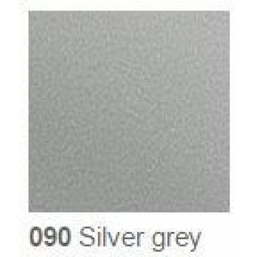 Oracal 651 Series CAD/CAM Plotter Vinyl 090 Silver Grey 630mm Wide