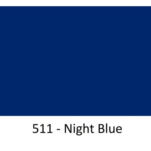 630mm Wide Oracal 551 Series High Performance Cal Vinyl - Night Blue 511