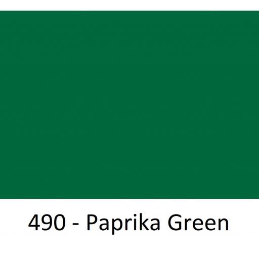 1260mm Wide Oracal 551 Series High Performance Cal Vinyl - Paprika Green 490