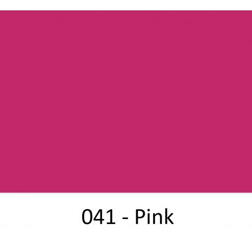 Oracal 751 Cast Vinyl 041 Pink 1260mm Wide (Self Adhesive)