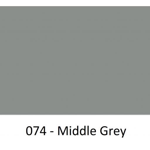 630mm Wide Oracal 641M Economy Calendered Vinyl - Middle Grey 074 Matt