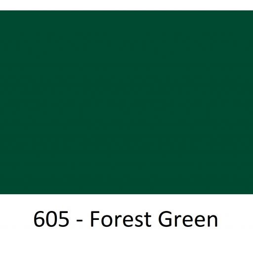 630mm Wide Oracal 551 Series High Performance Cal Vinyl - Forest Green 605