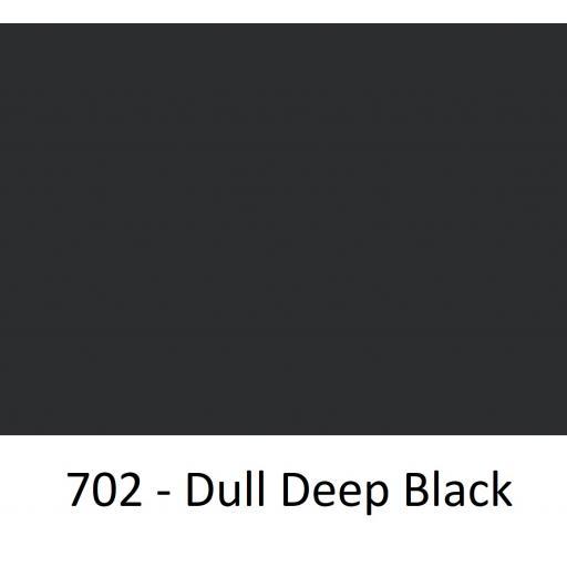 1260mm Wide Oracal 551 Series High Performance Cal Vinyl - Dull Deep Black 702