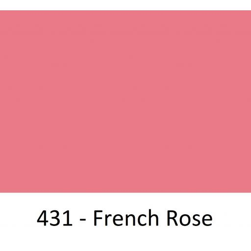 1260mm Wide Oracal 551 Series High Performance Cal Vinyl - French Rose 431