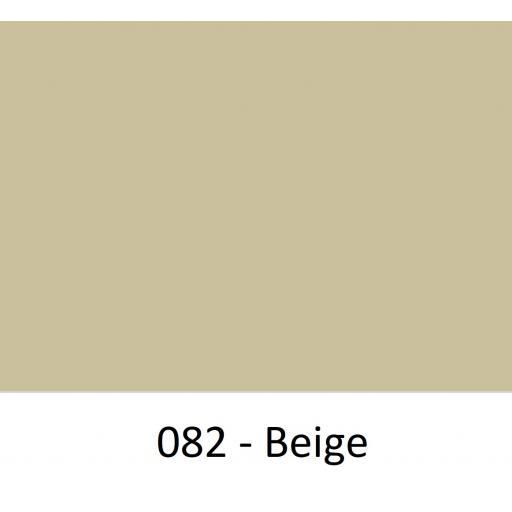 630mm Wide Oracal 641M Economy Calendered Vinyl - Beige 082 Matt