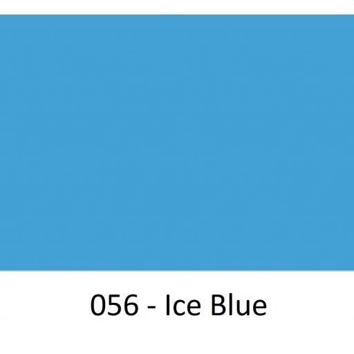 630mm Wide Oracal 641M Economy Calendered Vinyl - Ice Blue 056 Matt