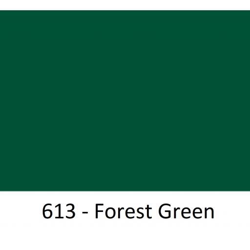 Oracal 651 Series CAD/CAM Plotter Vinyl Gloss 613 Forest Green 630mm Wide