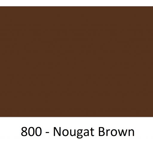 630mm Wide Oracal 641M Economy Calendered Vinyl - Nugget Brown 800 Matt