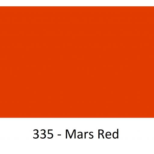 Oracal 751 Cast Vinyl 335 Mars Red 630mm Wide (Self Adhesive)