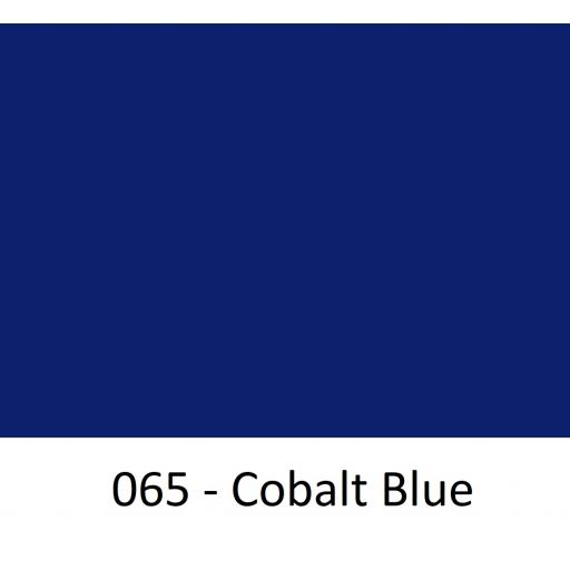 Oracal 651 Series CAD/CAM Plotter Vinyl Gloss 065 Cobalt Blue 1260mm Wide