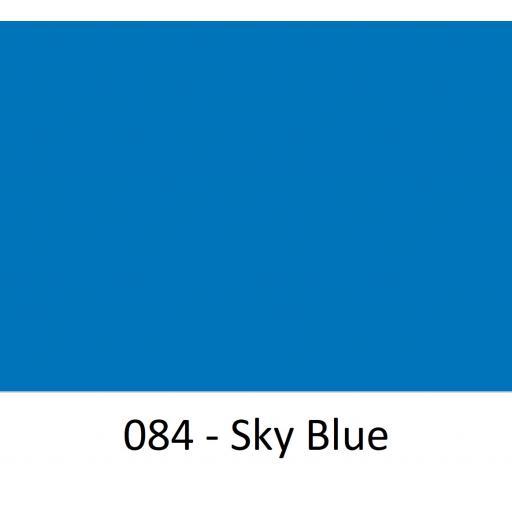 Oracal 651 Series CAD/CAM Plotter Vinyl Gloss 084 Sky Blue 630mm Wide