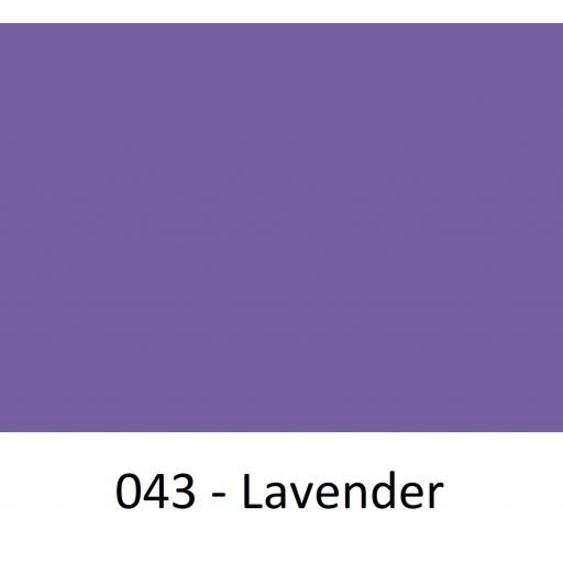 1260mm Wide Oracal 551 Series High Performance Cal Vinyl - Lavender 043