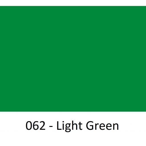 Oracal 651 Series CAD/CAM Plotter Vinyl Gloss 062 Light Green 630mm Wide