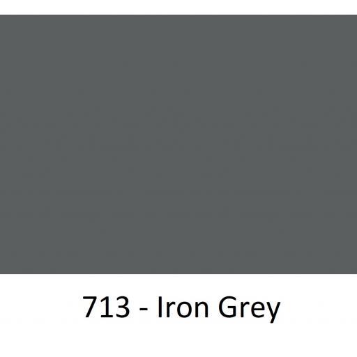 630mm Wide Oracal 551 Series High Performance Cal Vinyl - Iron Grey 713