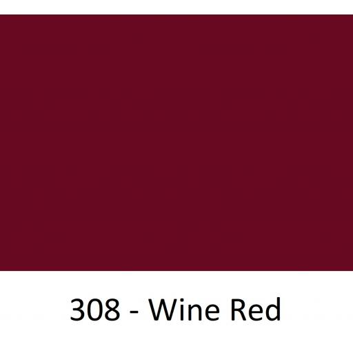 1260mm Wide Oracal 551 Series High Performance Cal Vinyl - Wine Red 308