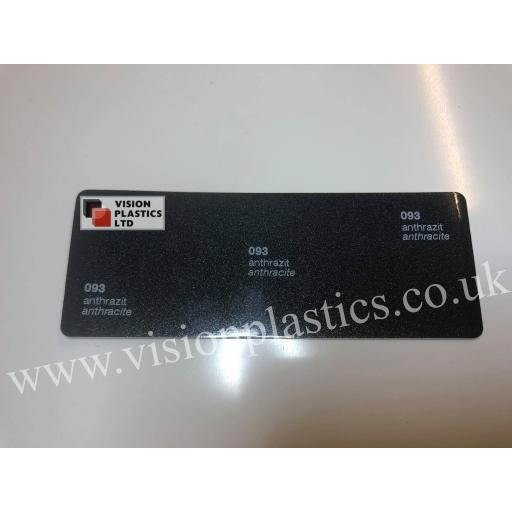 630mm Wide Oracal 551 Series High Performance Cal Vinyl - Anthracite 093