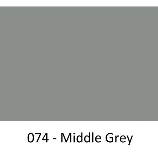 630mm Wide Middle Grey 074 Gloss Finish Oracal 751 Cast Vinyl