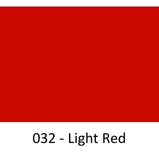 Oracal 651 Series CAD/CAM Plotter Vinyl Gloss 032 Light Red 630mm Wide