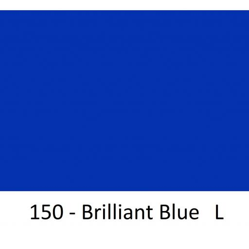 630mm Wide Oracal 551 Series High Performance Cal Vinyl - Brilliant Blue L 150