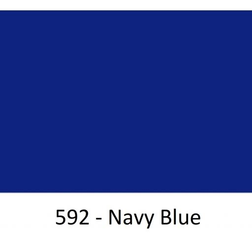 Oracal 751 Cast Vinyl 592 Navy Blue 1260mm Wide (Self Adhesive)
