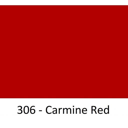 630mm Wide Oracal 551 Series High Performance Cal Vinyl - Carmine Red 306