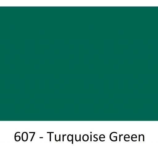Oracal 751 Cast Vinyl 607 Turquoise Green 630mm Wide (Self Adhesive)