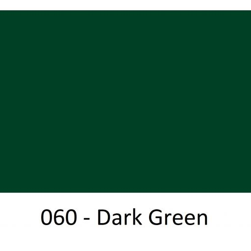 Oracal 651 Series CAD/CAM Plotter Vinyl Gloss 060 Dark Green 630mm Wide