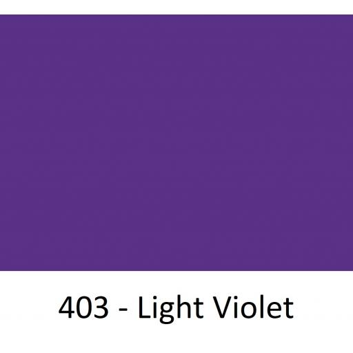 630mm Wide Oracal 551 Series High Performance Cal Vinyl - Light Violet 403