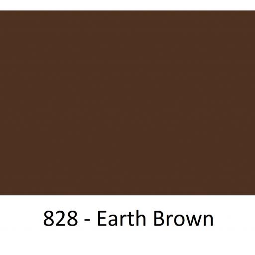 Oracal 751 Cast Vinyl 828 Earth Brown 630mm Wide (Self Adhesive)
