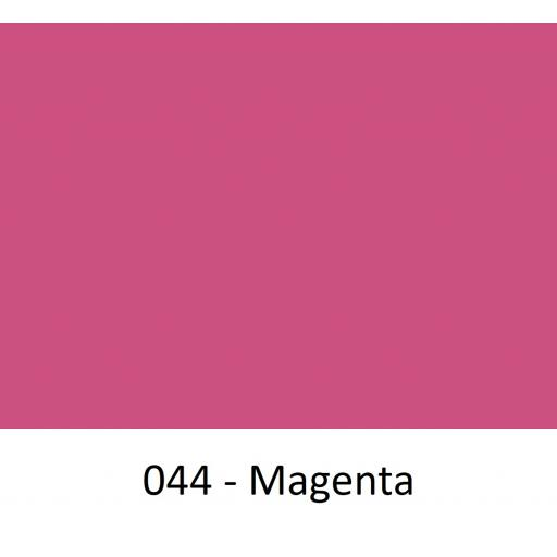 Oracal 751 Cast Vinyl 044 Magenta 1260mm Wide (Self Adhesive)