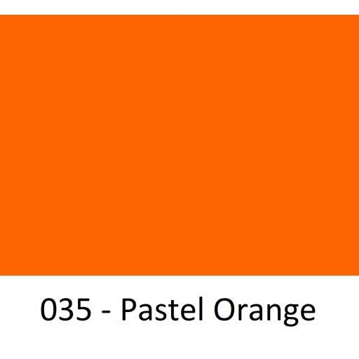 1260mm Wide Oracal 551 Series High Performance Cal Vinyl - Pastel Orange 035