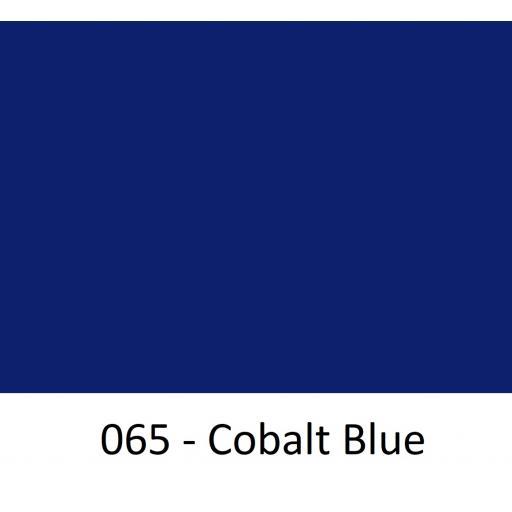 630mm Wide Oracal 551 Series High Performance Cal Vinyl - Cobalt Blue 065