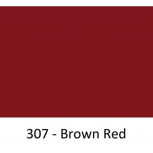 1260mm Wide Oracal 551 Series High Performance Cal Vinyl - Brown Red 307