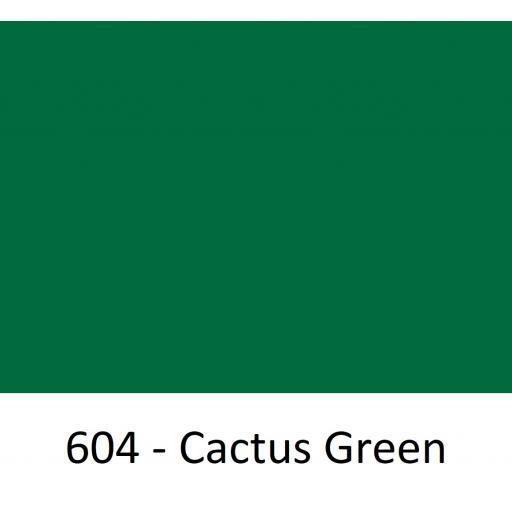 1260mm Wide Oracal 551 Series High Performance Cal Vinyl - Cactus Green 604