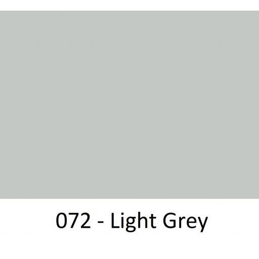 Oracal 651 Series CAD/CAM Plotter Vinyl Gloss 072 Light Grey 630mm Wide