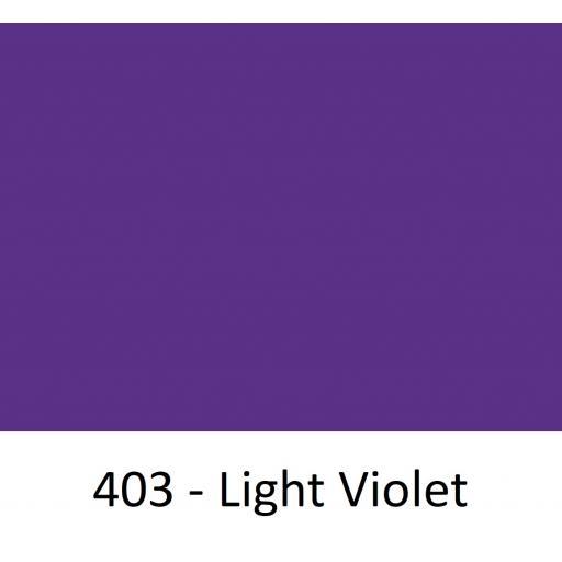1260mm Wide Oracal 551 Series High Performance Cal Vinyl - Light Violet 403