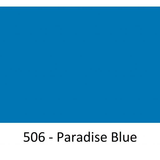 630mm Wide Oracal 551 Series High Performance Cal Vinyl - Paradise Blue 506