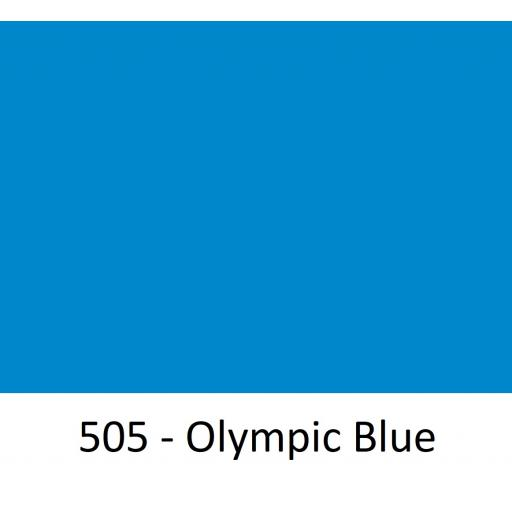 630mm Wide Oracal 551 Series High Performance Cal Vinyl - Olympic Blue 505