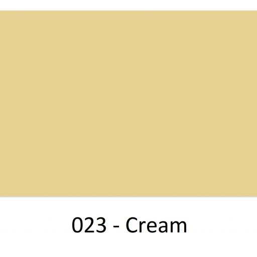 Oracal 651 Series CAD/CAM Plotter Vinyl Gloss 023 Cream 630mm Wide