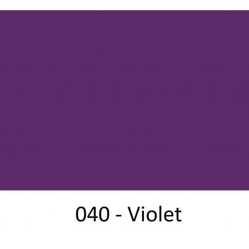 630mm Wide Oracal 641M Economy Calendered Vinyl - Violet 040 Matt