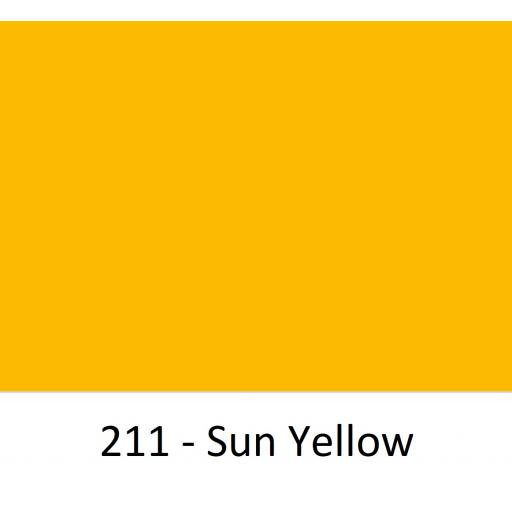 Oracal 751 Cast Vinyl 211 Sun Yellow 630mm Wide (Self Adhesive)