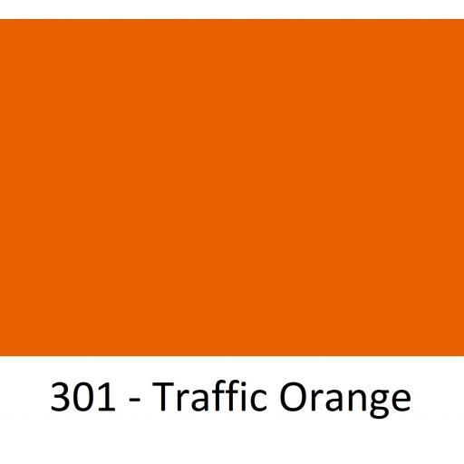 1260mm Wide Oracal 551 Series High Performance Cal Vinyl - Traffic Orange 301