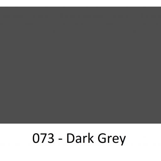Oracal 651 Series CAD/CAM Plotter Vinyl Gloss 073 Dark Grey 630mm Wide
