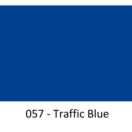 630mm Wide Oracal 551 Series High Performance Cal Vinyl - Traffic Blue 057