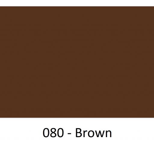 Oracal 651 Series CAD/CAM Plotter Vinyl Gloss 080 Brown 630mm Wide