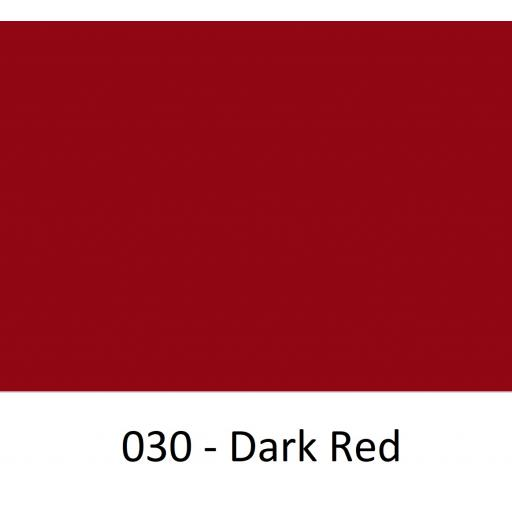 610mm Wide Oracal 451 Series Banner Vinyl Dark Red 030