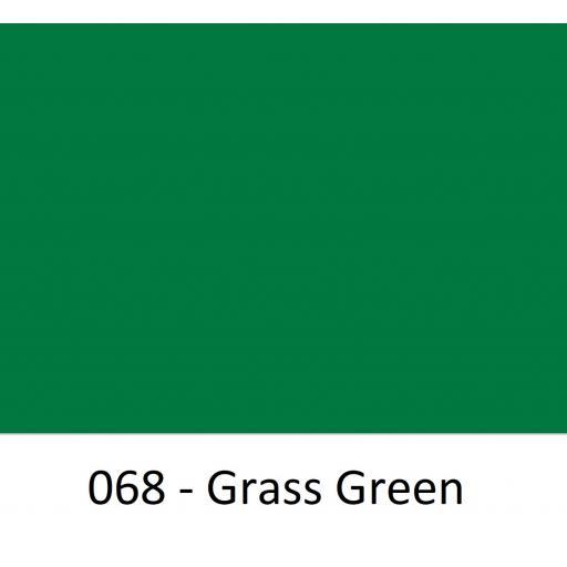 Oracal 651 Series CAD/CAM Plotter Vinyl Gloss 068 Grass Green 630mm Wide