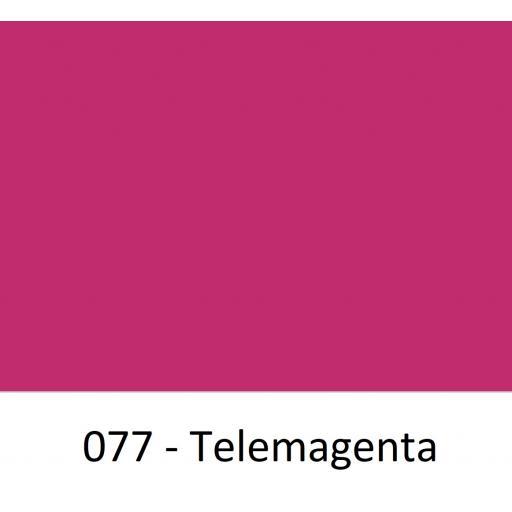 1520mm Wide Oracal 970 Rapid Air Premium Wrapping Cast Vinyl - Telemagenta 077
